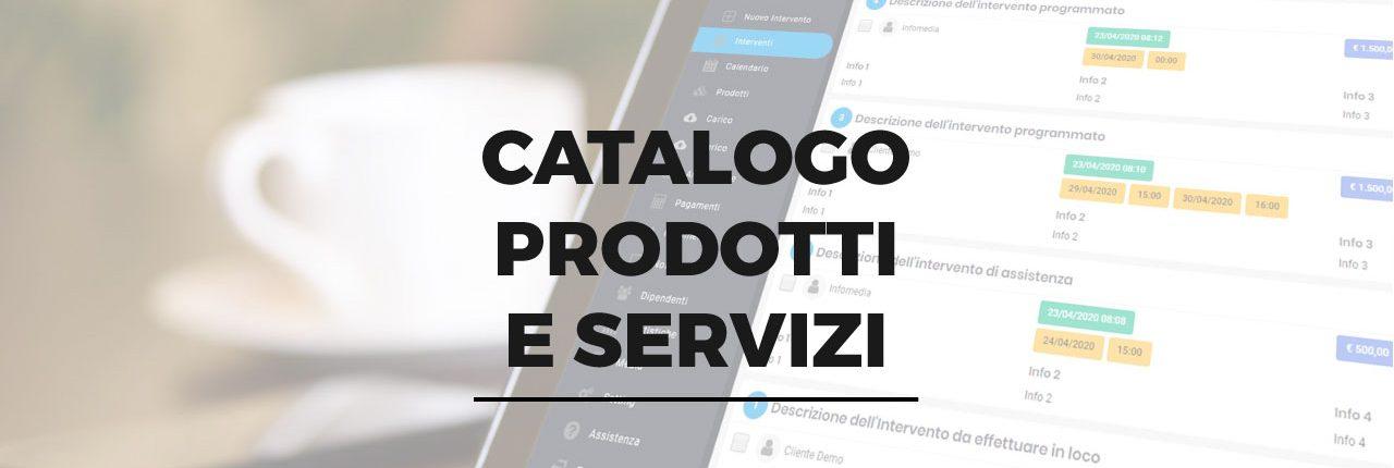 catalogo prodotti servizi